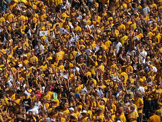 Wyoming football fans