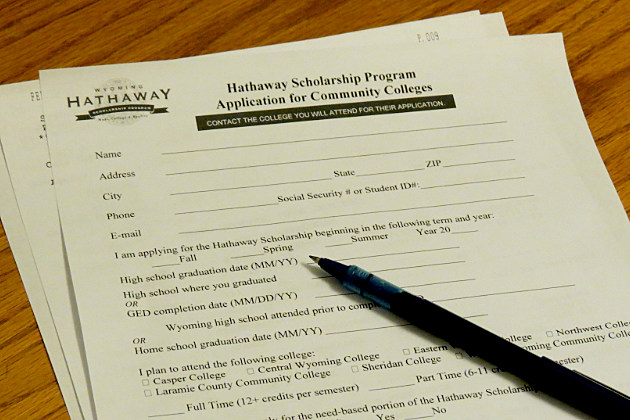 Hathaway Scholarship Application