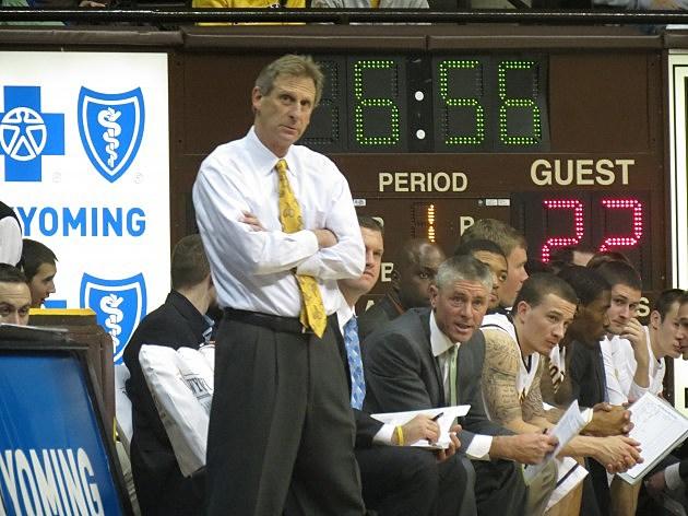 Head Coach Larry Shyatt