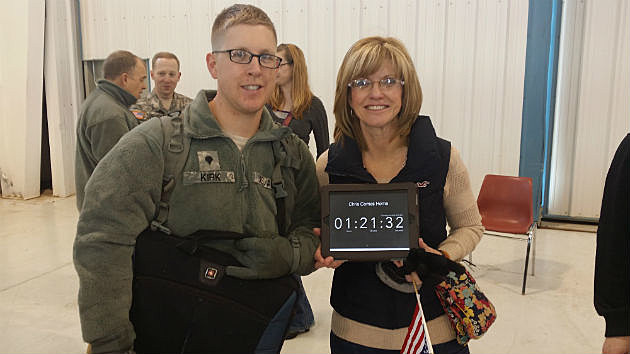 Karen and Chris Kirk Plus Count Down Clock