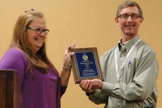 Lamb Receives Award