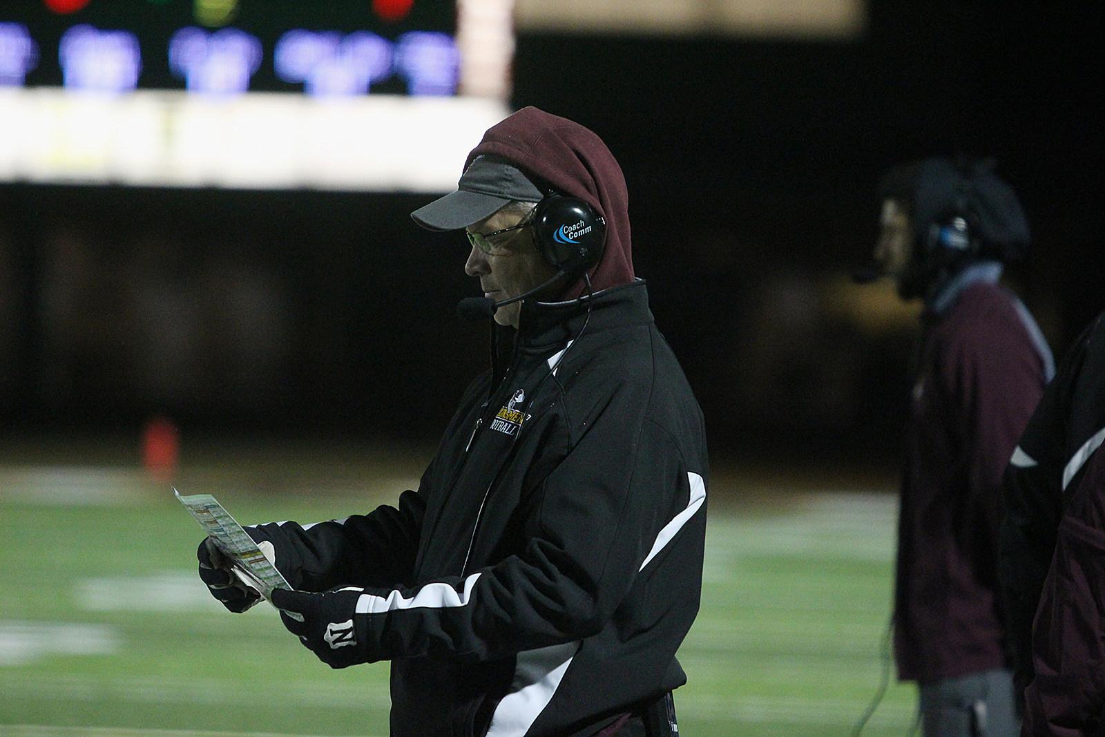 Laramie Plainsmen Head Coach Chuck Syverson