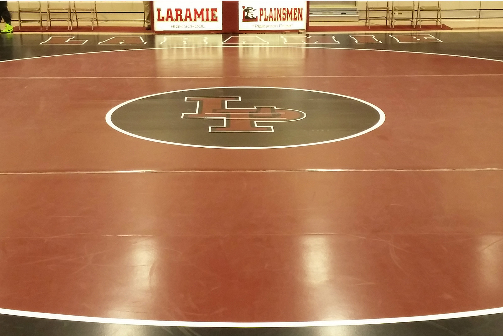 LP Wrestling mat at LHS