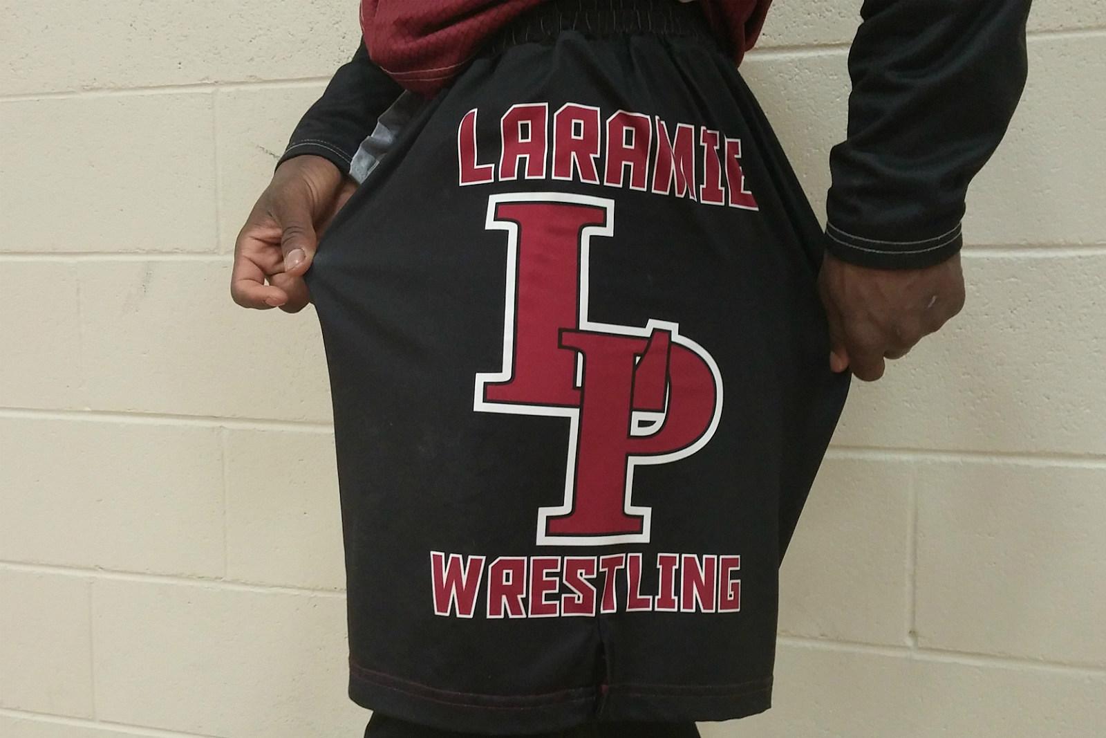 Plainsmen Wrestling shorts