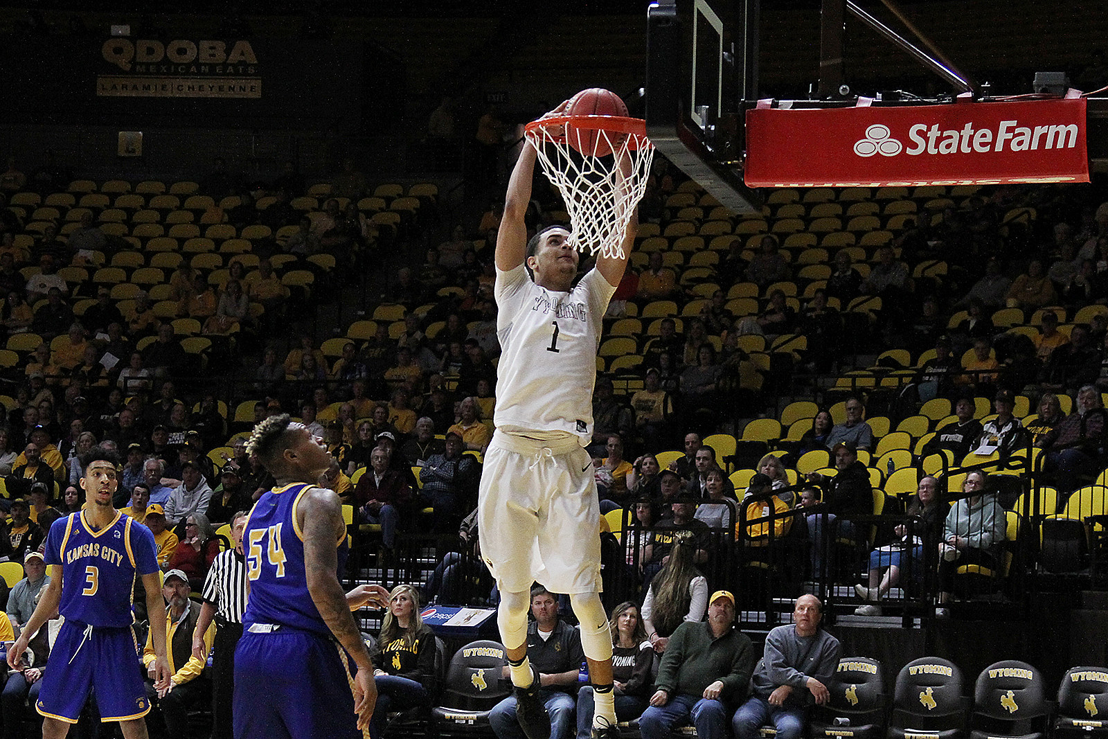 Justin James, Wyoming Cowboys CBI 2017