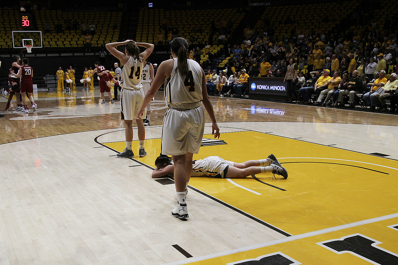 Wyoming Cowgirls WNIT 2017 loss
