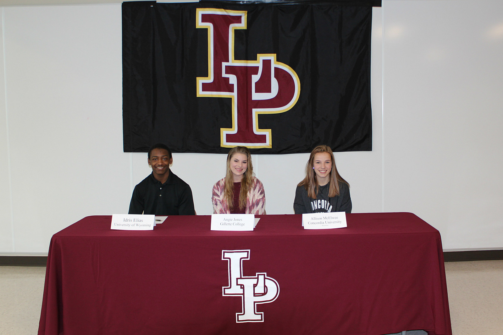 Three Laramie High School Students Sign for College Athletics