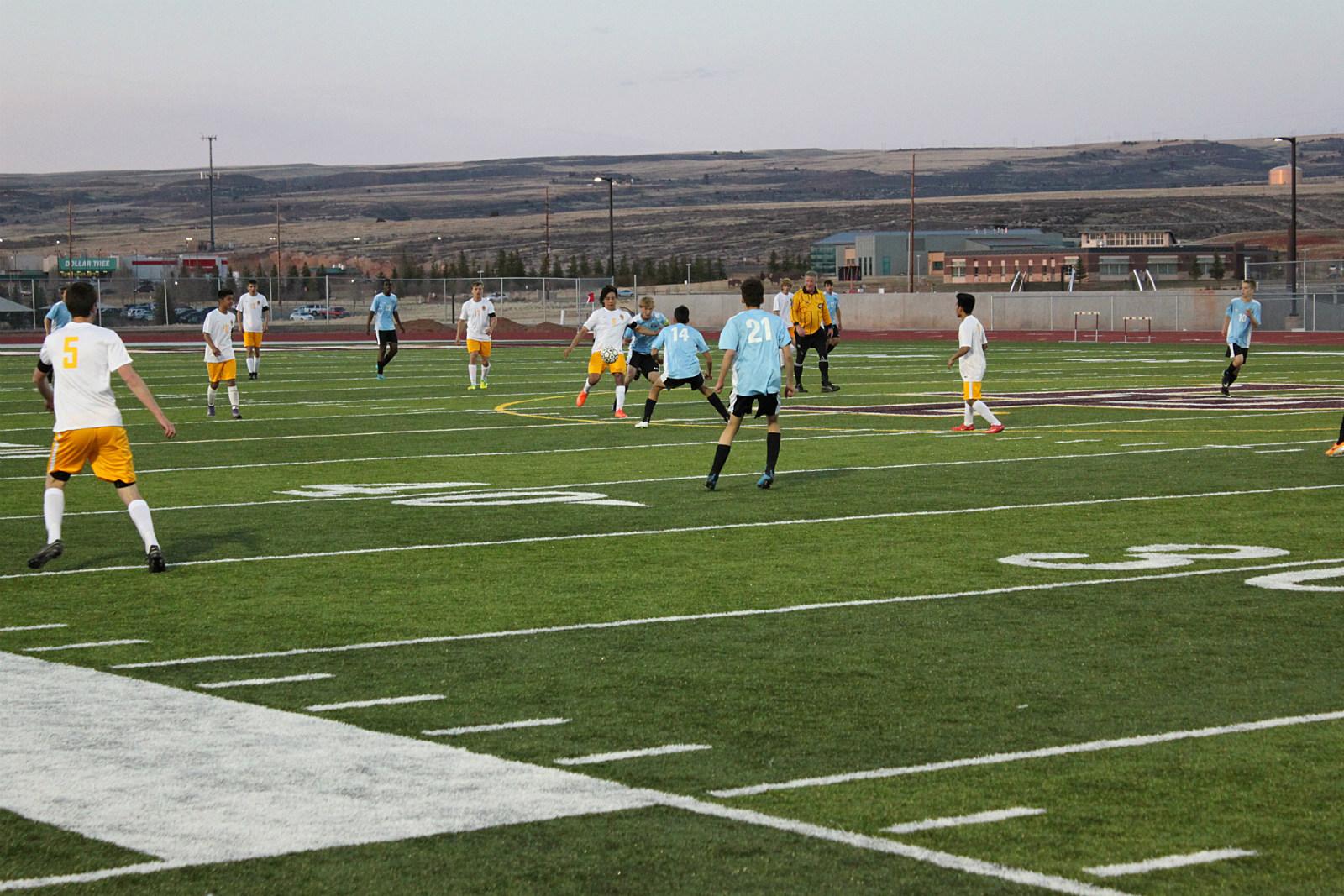 LP Soccer vs East, 2017