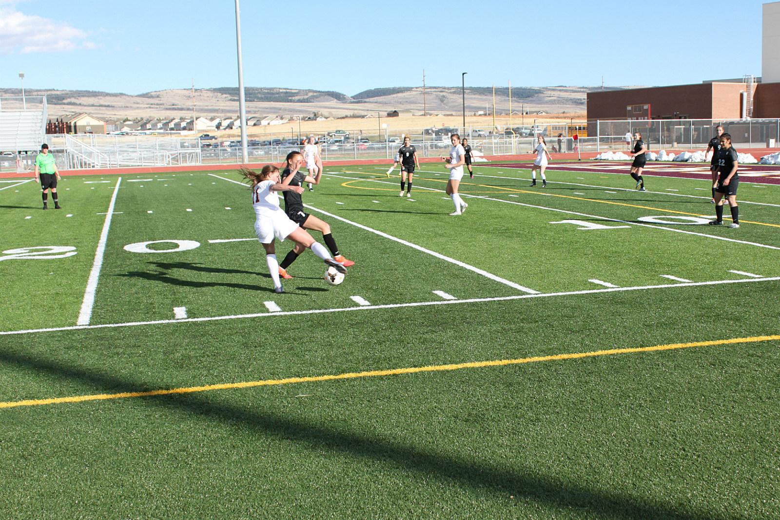 Sr Madison Barrick, LLP Soccer, 2017