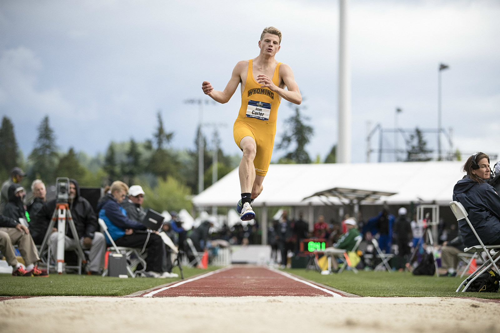 Scott Carter, Wyoming, UW Track, NCAA Championships 2017