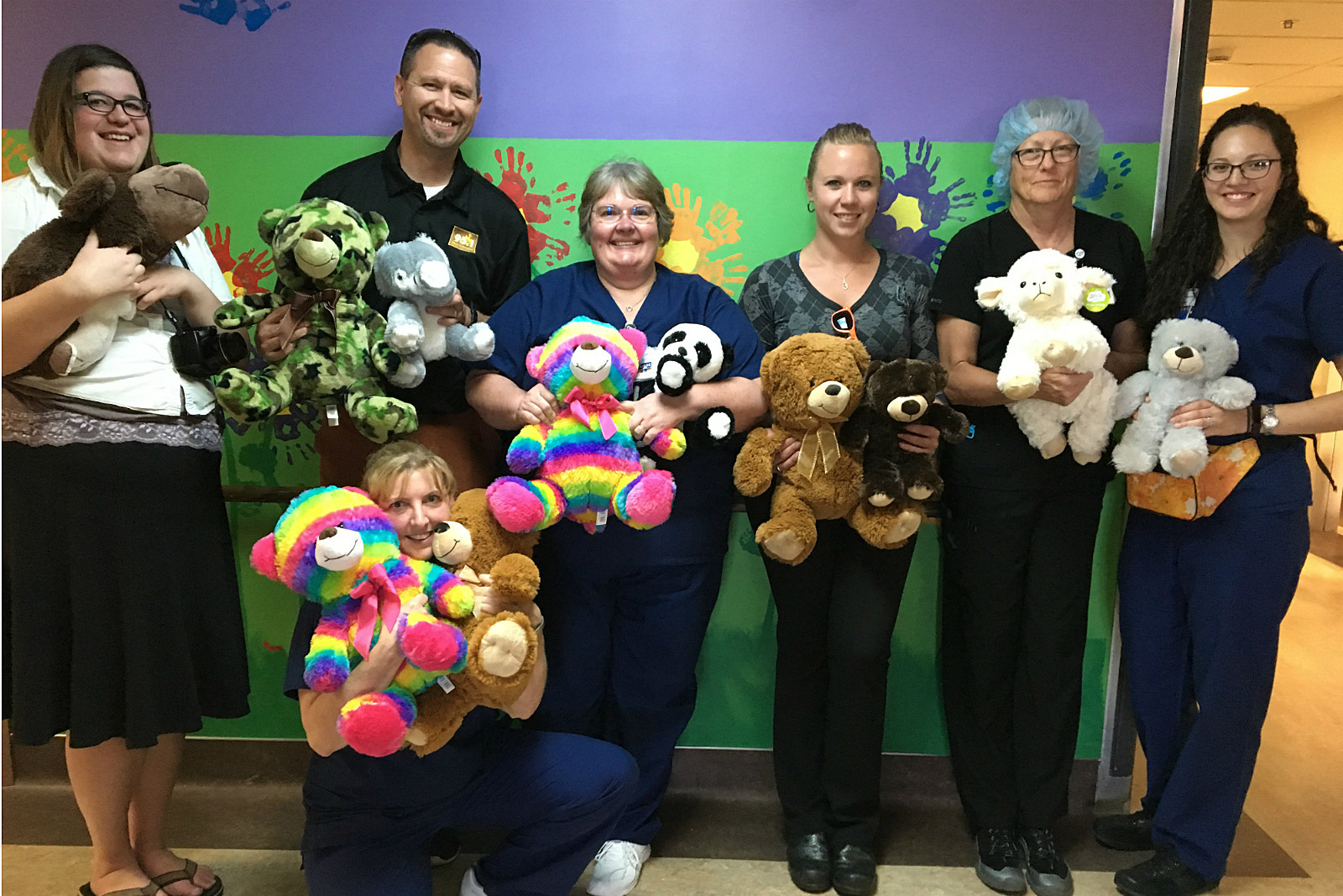 Teddy Bears, Stuffed Animals, IMH, Donation, 2017