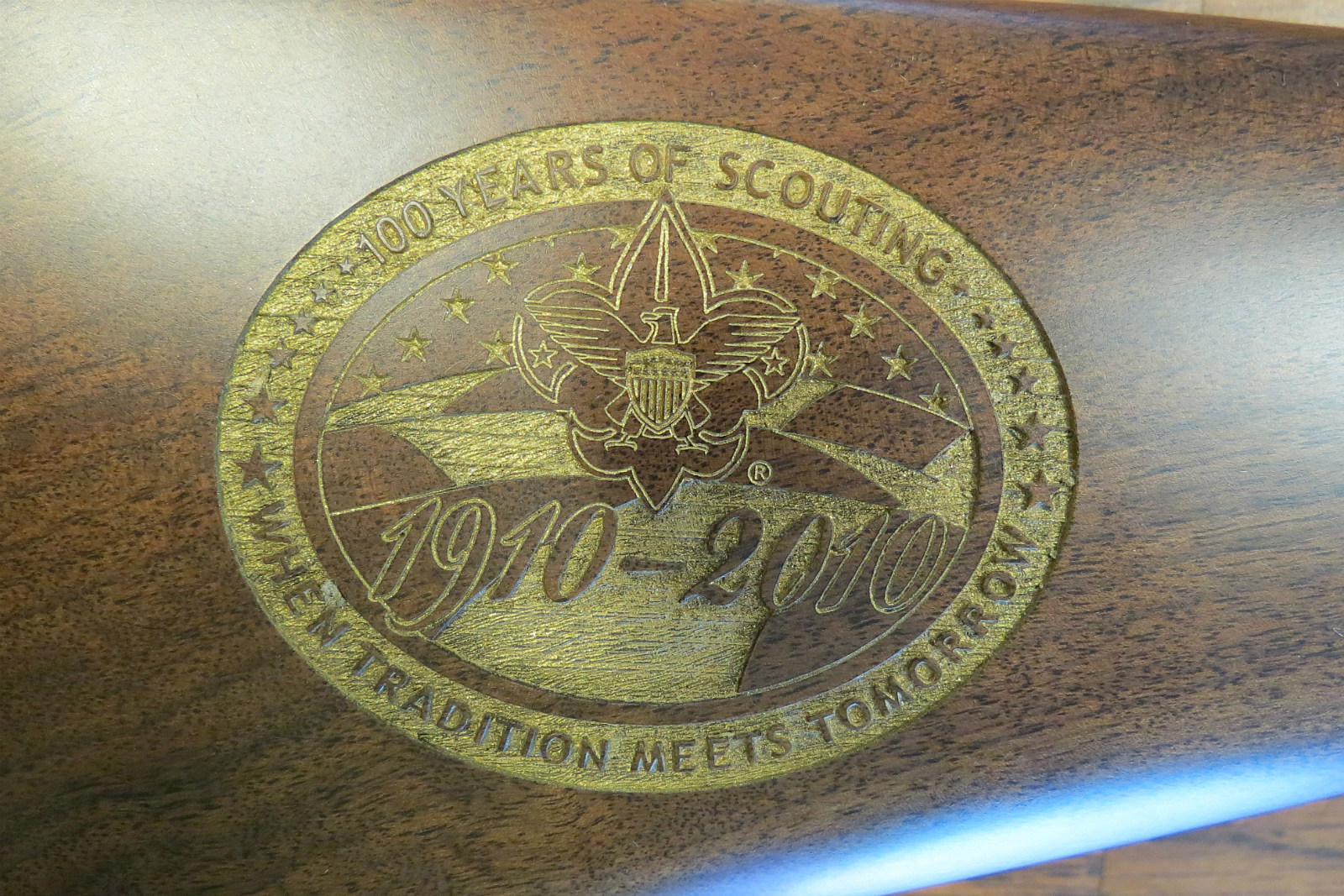 Boy Scouts, Rifle, Engraving, Logo, 2017
