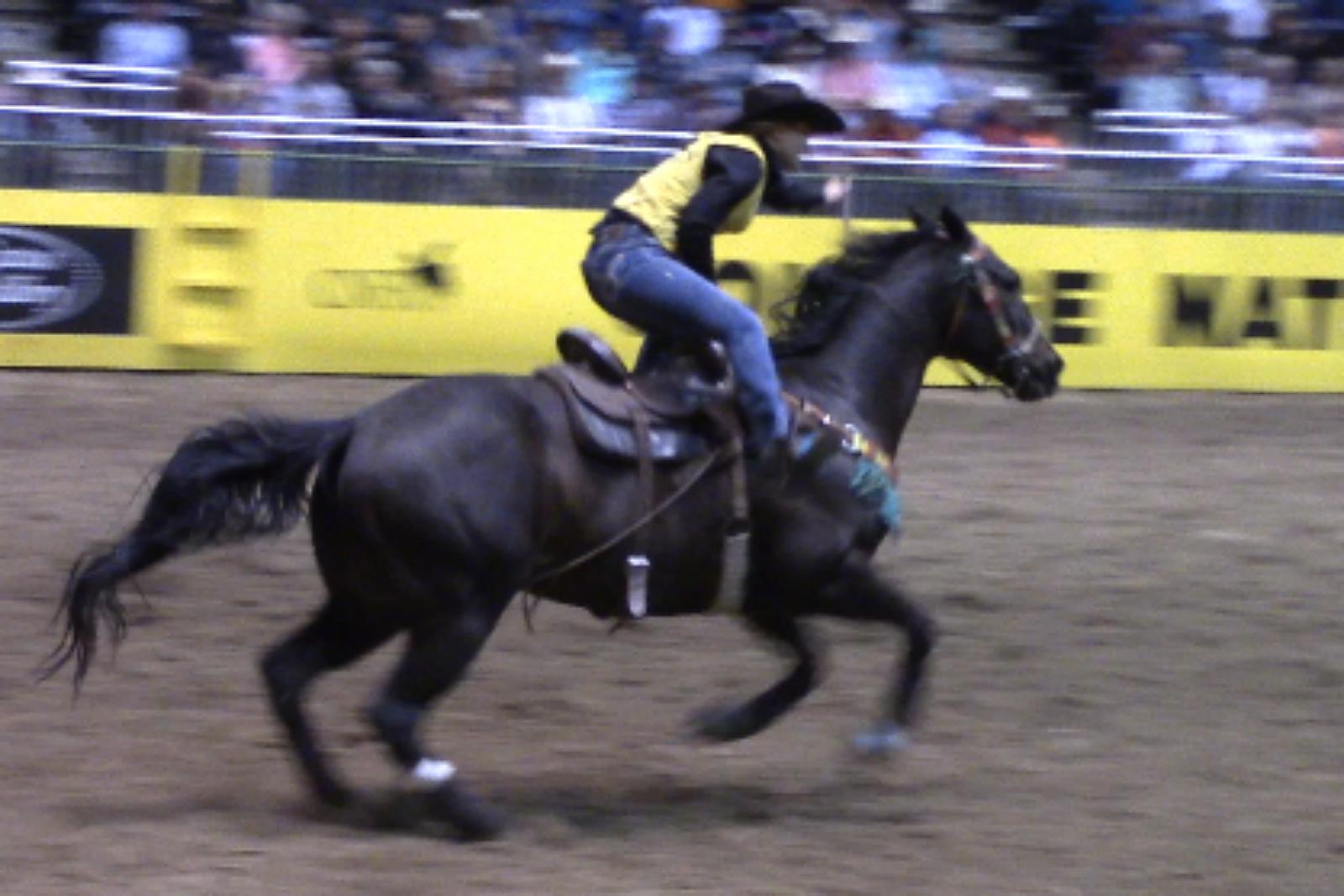 Kailee Webb, UW, CNFR, rodeo, 2017