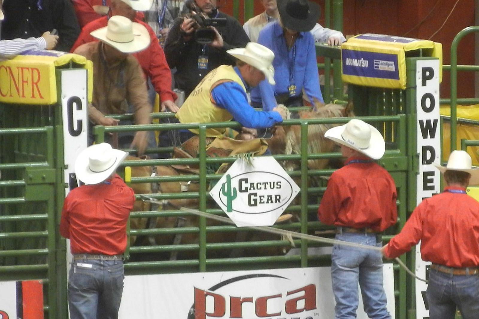 Wyatt Hageman, UW rodeo, CNFR, 2017