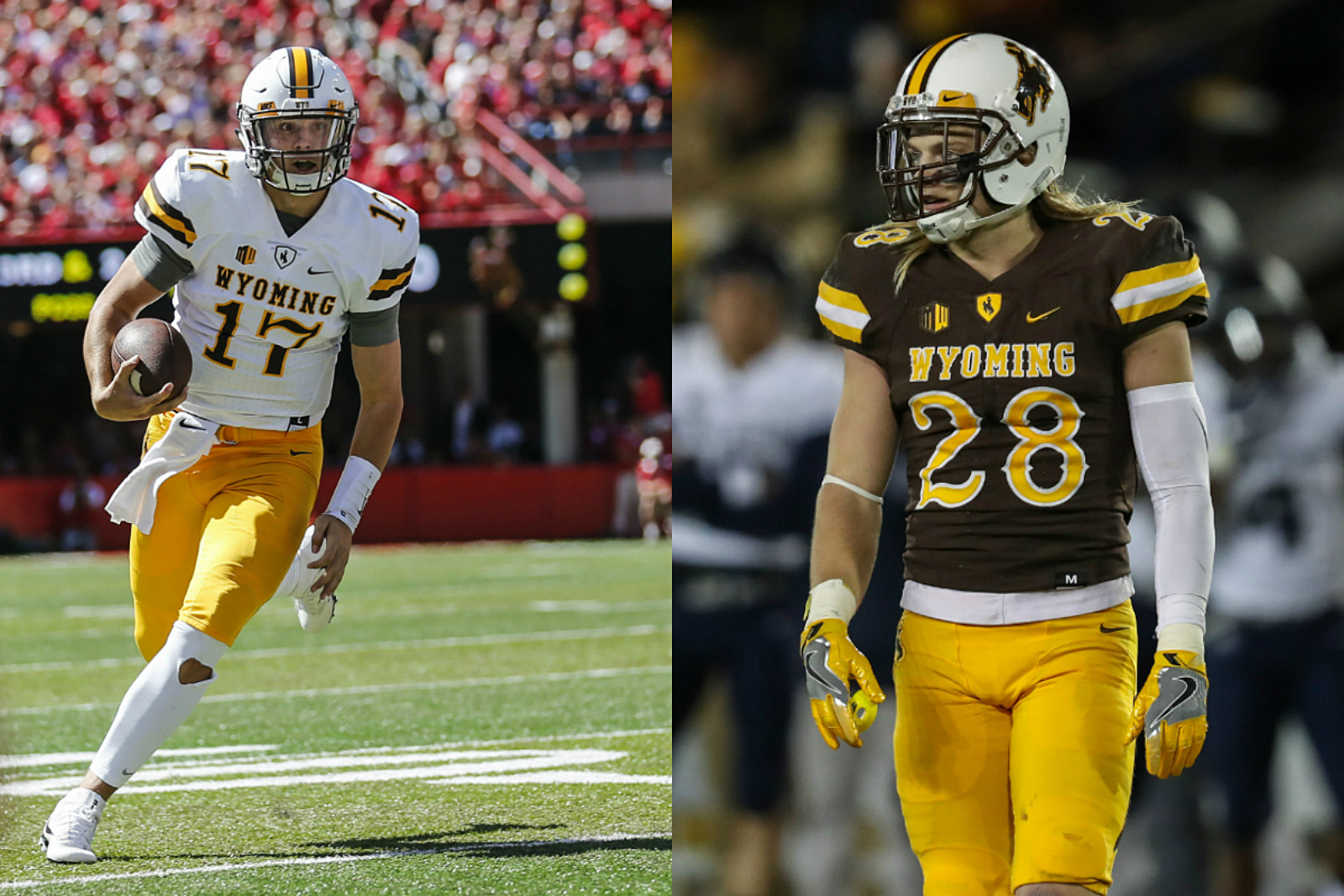 Josh Allen, Andrew Wingard, Wyoming Cowboys, Wyo Football, 2016