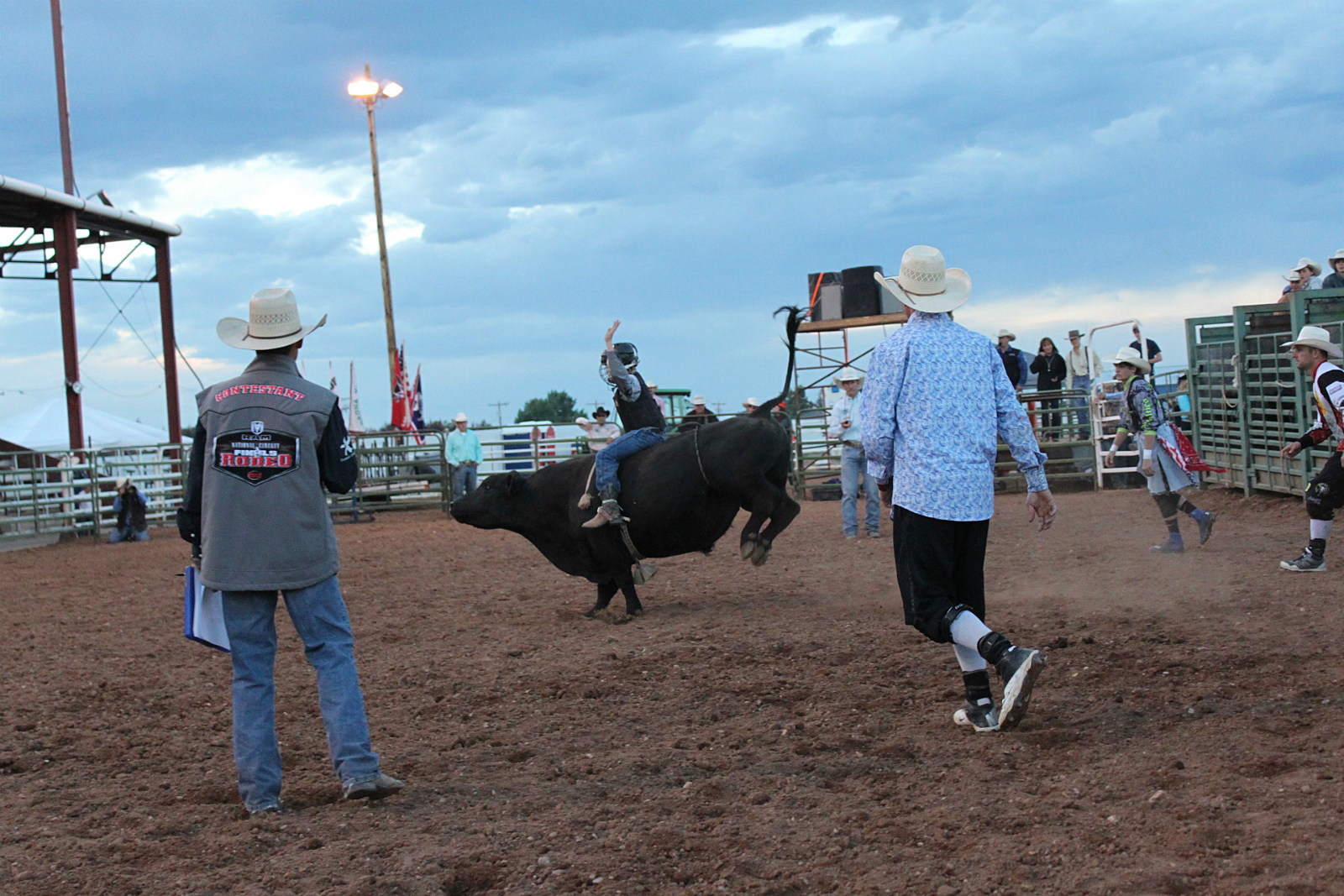 Laramie Jubilee Days, Jr. Bull Riding, 2016