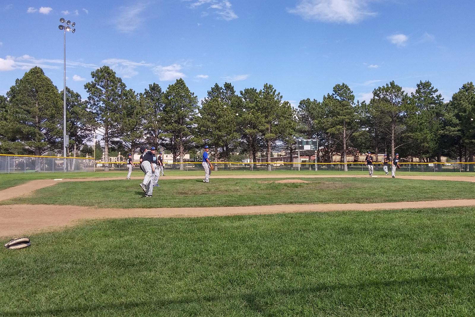Laramie 11-12 All-Stars, Little League Baseball, Practice, 2017