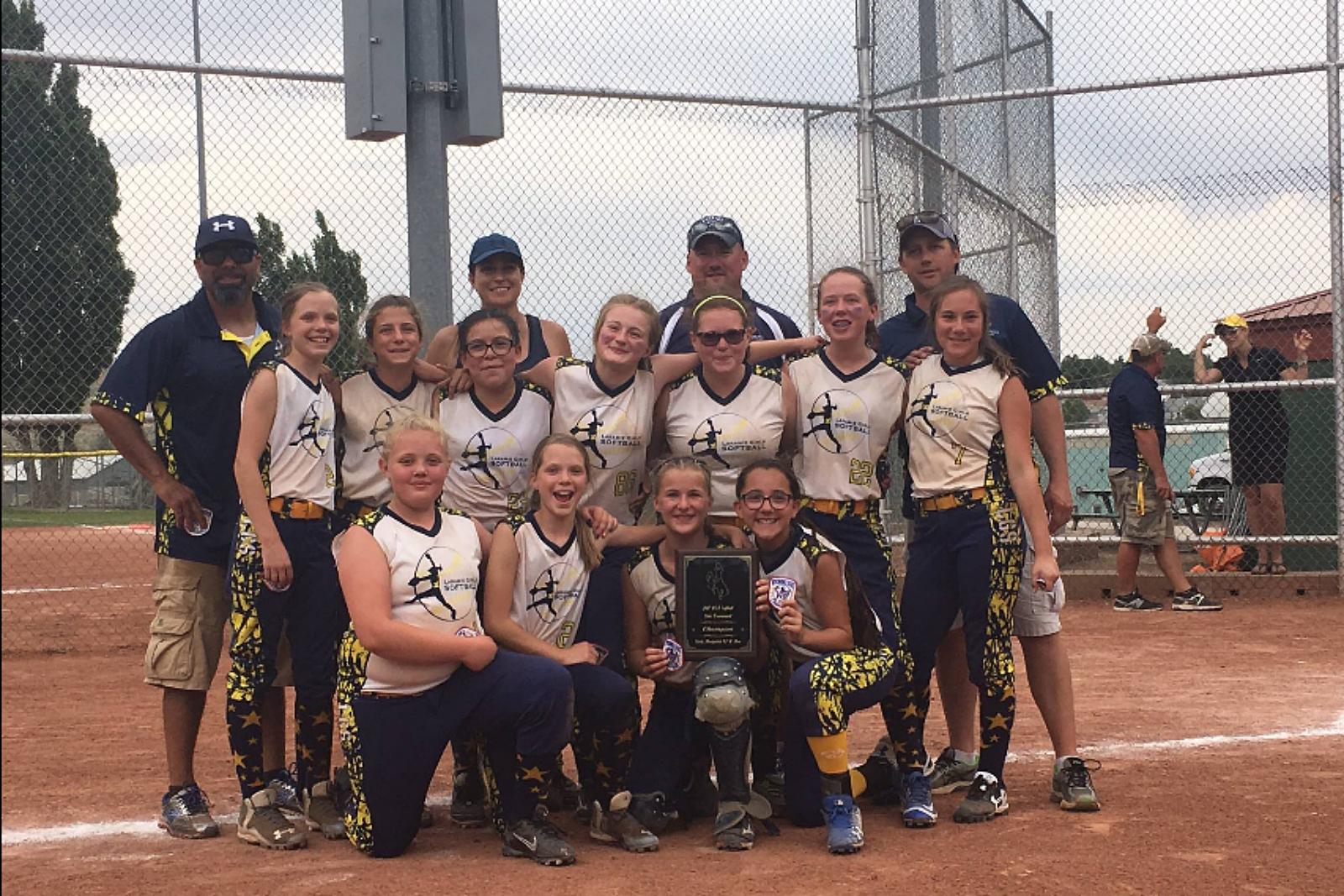 LGS, Fastpitch Softball, 12U State Champs, 2017