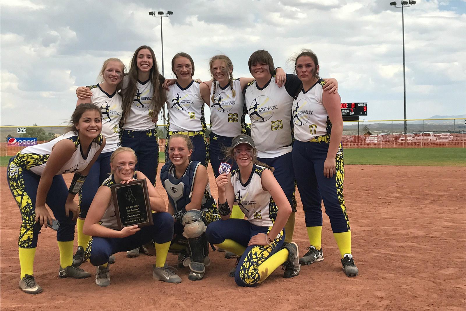 LGS, Fastpitch Softball, 14U State Champs, 2017