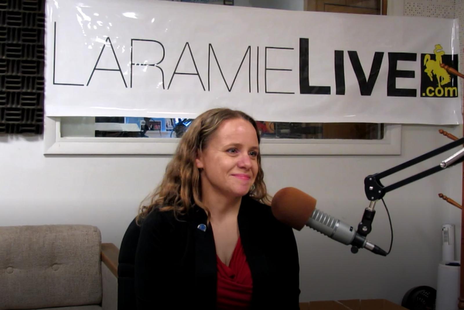 Laramie Mayor, Andi Summerville, Radio Interview, 2017