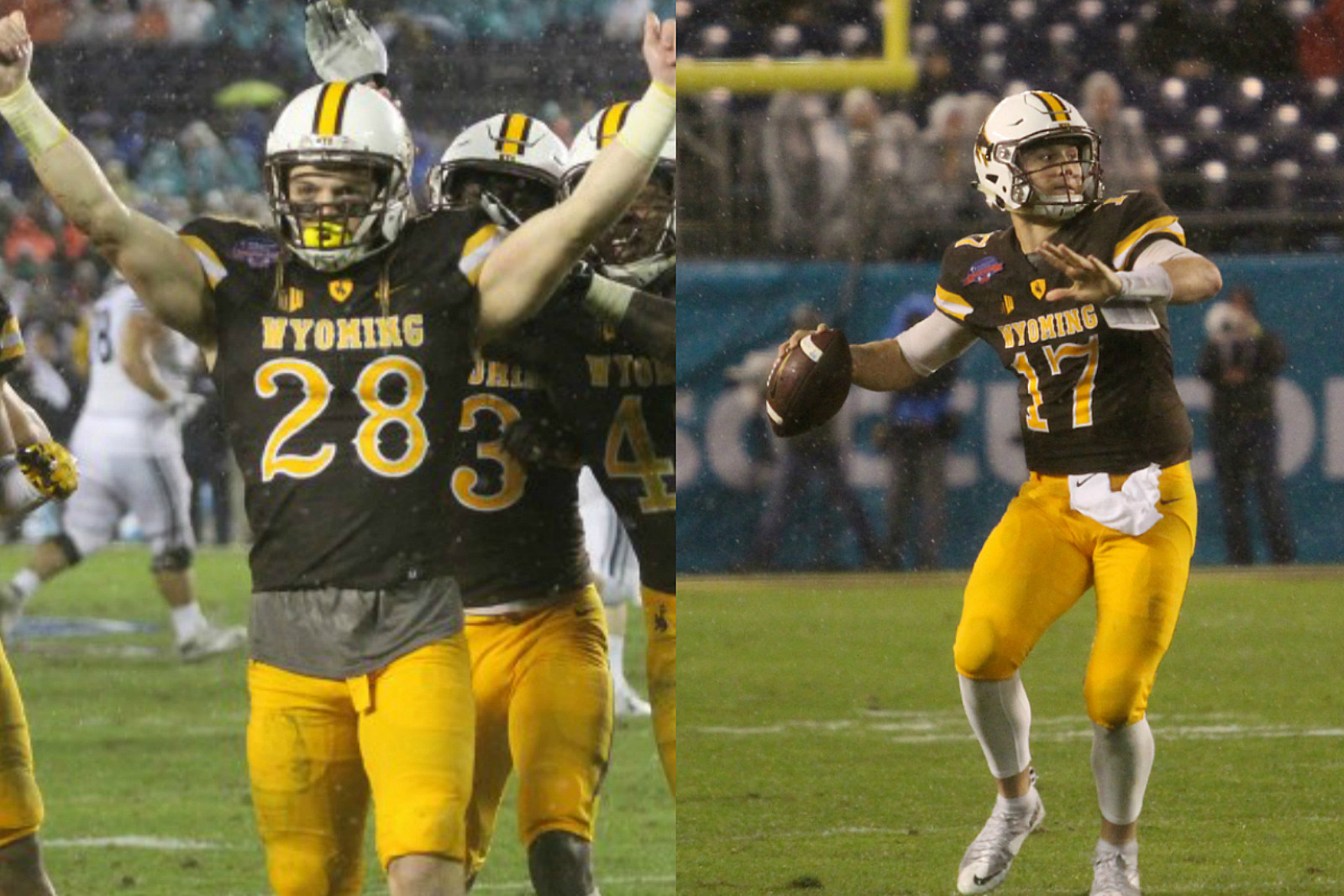 Andrew Wingard, Josh Allen, Wyoming Football, Wyoming Cowboys, Bowl Game, 2016