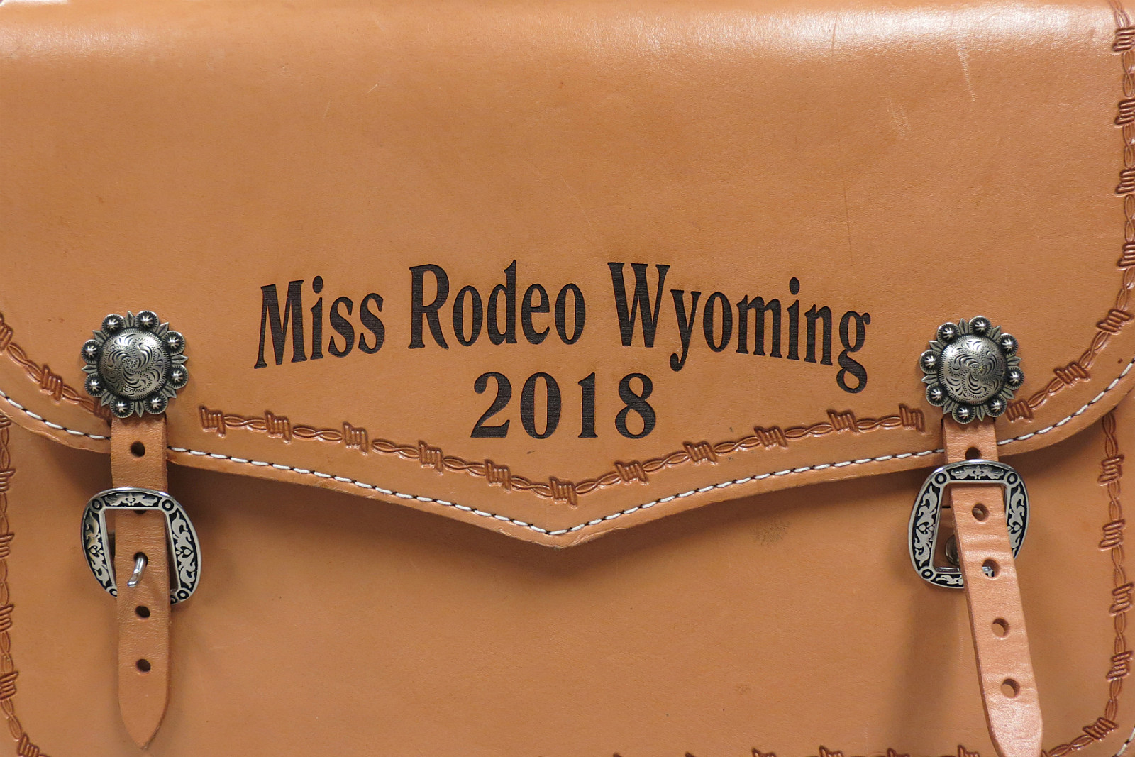 Morgan Wallace, Miss Rodeo Wyoming, bag, 2018