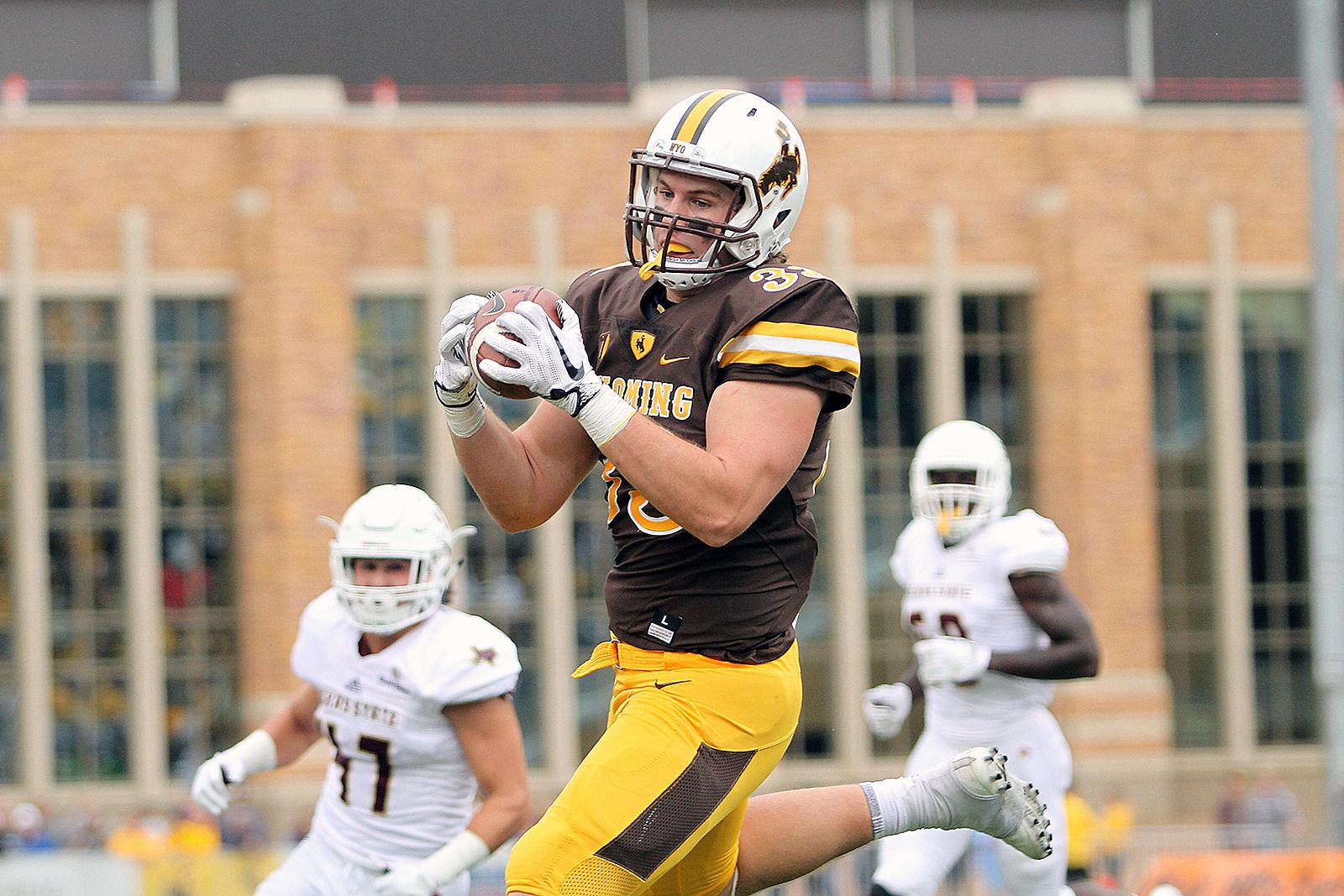 Josh Harshman, Wyoming Cowboys, Football, UW, Wyo, UWYO, 2017