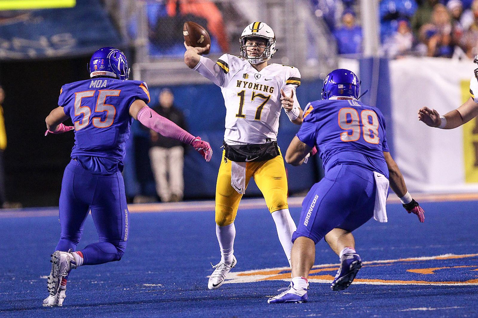 Josh Allen, Wyoming Cowboys, UW, Wyo, UWYO, Football, 2017