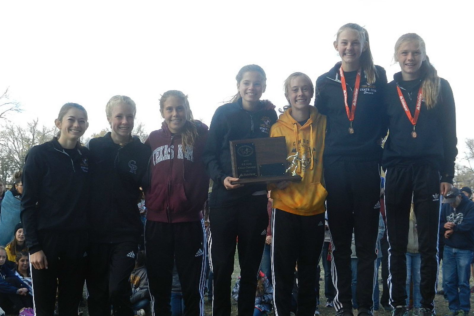 Laramie Lady Plainsmen, State Runner-up, Cross Country, 2017