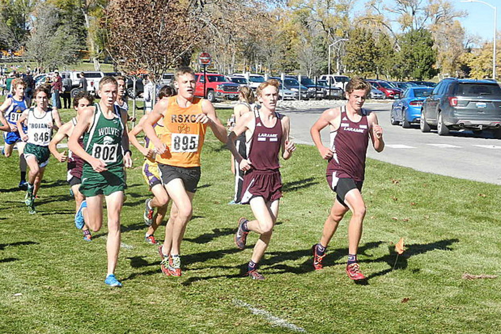 Laramie Cross Country, XC, LHS, running, 2016, state championships