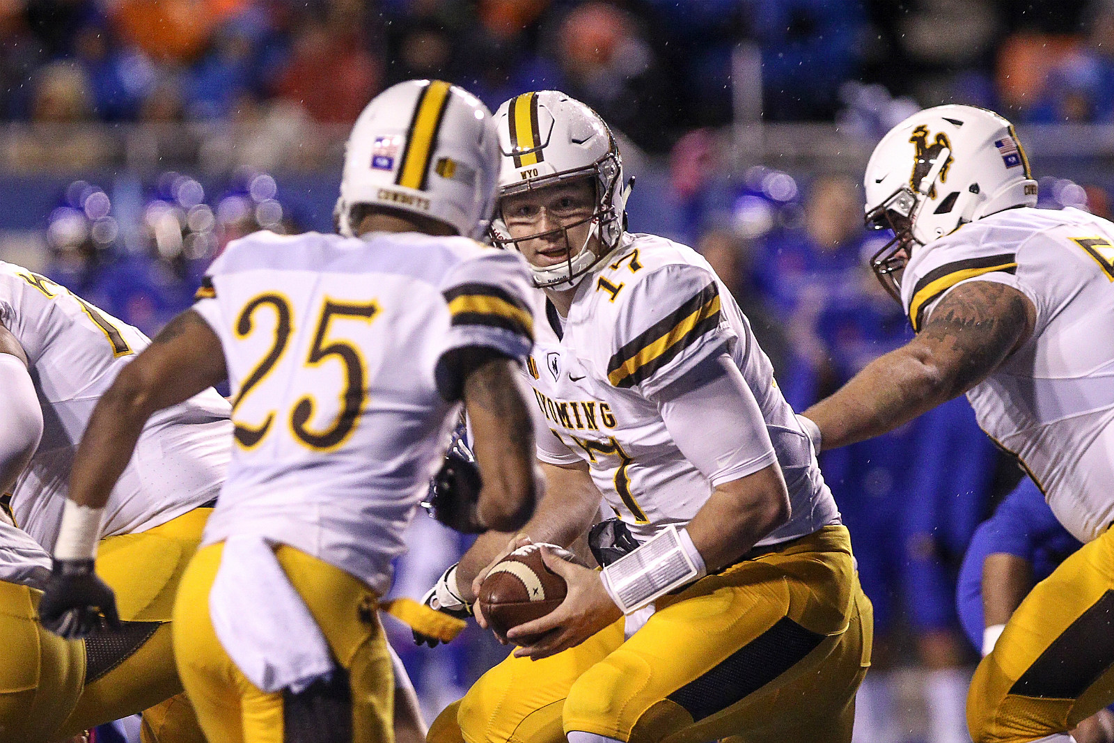 Josh Allen, Austin Conway, Wyoming Cowboys, College Football, UW, Wyo, 2017