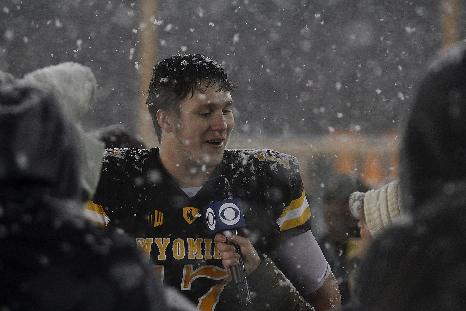 Josh Allen, Wyoming Cowboys, Wyo, UW, College Football, 2017