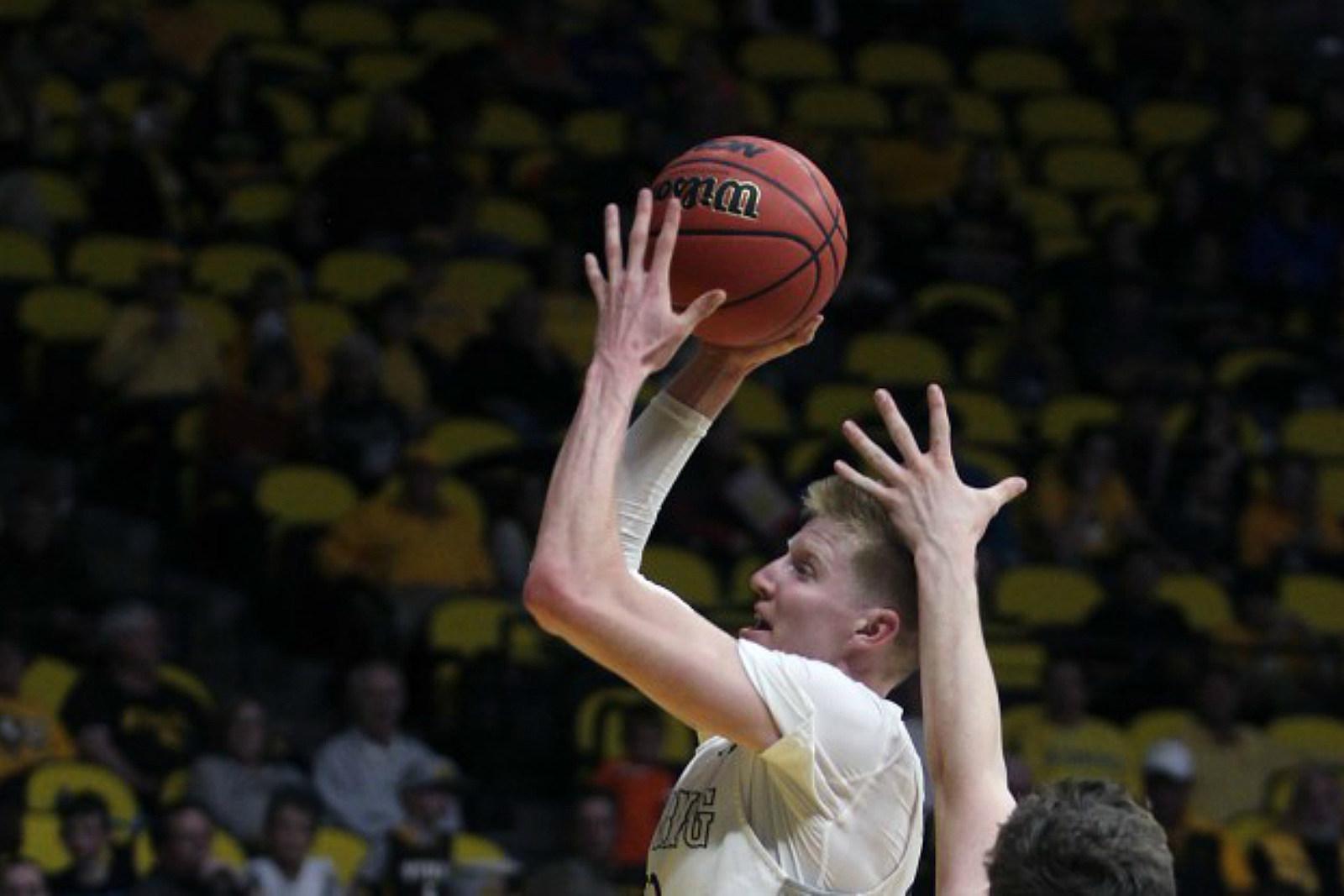 Hayden Dalton, Wyoming Cowboys, College Basketball, UW, Wyo