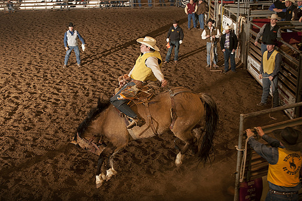 University Of Wyoming Hosts Home Rodeo At Hansen Arena Video