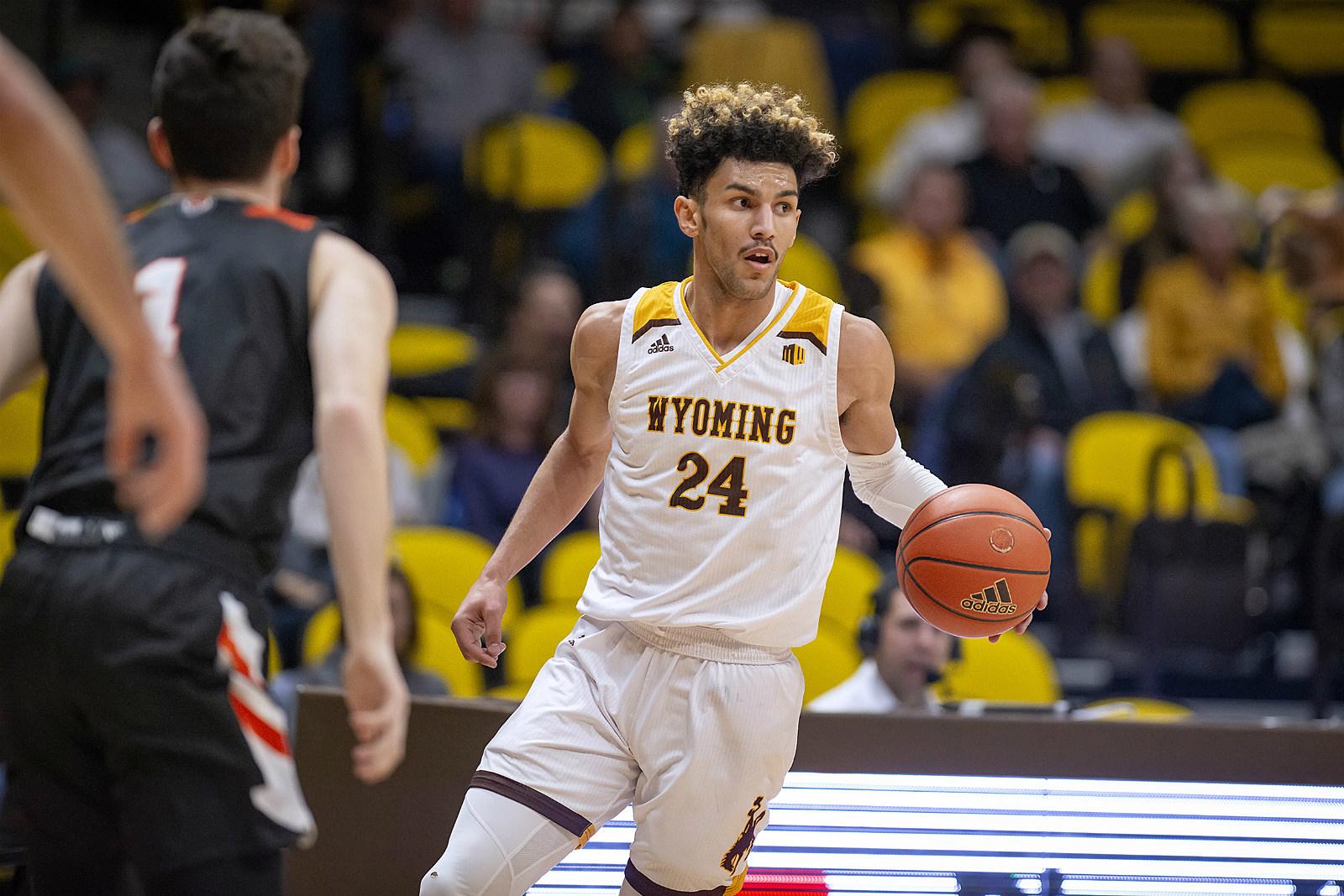 Hunter Maldonado, Wyoming Basketball, Wyoming Cowboys, 2019